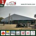 Große a Frames Aluminium Zelte 40X100m mit weißen Dachabdeckungen und weißen PVC-Seitenwänden