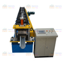 Half round gutter metal steel downspouts roll forming machines