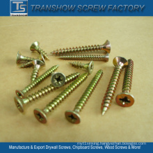 Inventory Sales Yellow Galvanized Chipboard Screws