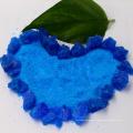 Sulfato de cobre del polvo cristalino de piedra o azul