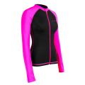 Seaskin Front Zip Surf Rash Gaurds For Womens