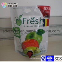 Jugo Bolsa de plástico de embalaje en caja