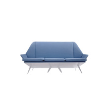 Loveseat Design Linne Säng Lounge Chesterfield Soffa