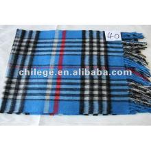 lenços de lã / caxemira misturados para homens