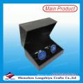 Elegantes Design Manschettenknöpfe mit Kunden Logo Design Druck Manschettenknöpfe Set