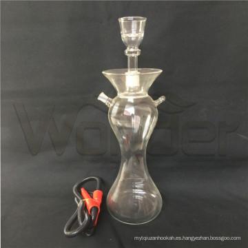 Muchos tipos de cachimbas de vidrio con LED para venta por mayor