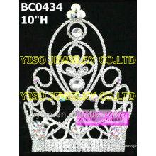 Simple tiara de diamantes grandes