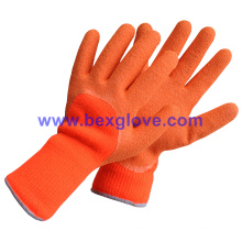 Thermo Latex Glove, Work Glove, Winter Warm Gloves