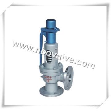 Válvula de alívio de segurança com mola de haste CE (A48Y)