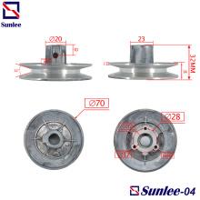Piezas de mecanizado CNC Lavadora Polea D70mm
