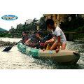 Sentarse en la pesca de plástico superior 3 persona Kayak Wholsale