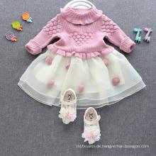 Strickpullikleid des neuesten Entwurfs reizendes fantastisches Kinderbaby-Winter