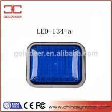 ADVERTENCIA de lámpara LED de señal superficial Monte azul de luz (LED-134-a)