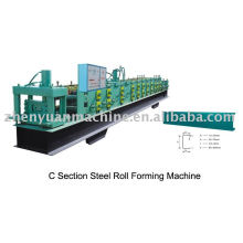 Producer of steel purlin forming machine,c shape roll forming machine,c purlin making equipment