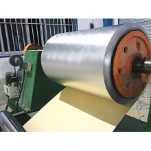 Feuille d'aluminium avec barrière d'humidité en papier Kraft
