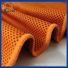 Serviette de refroidissement à boule de base en daim en microfibre (QHC52509)