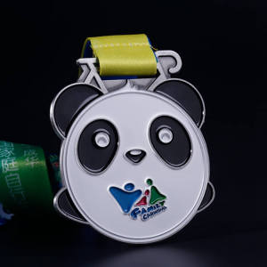 Custom Good Quality Sportmedalj med mjuk emalj