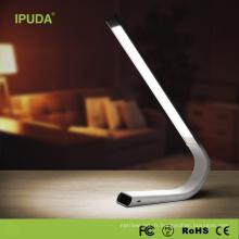 2017 IPUDA Q3 Vente Chaude table pliante led lampe de table d'étudiant léger