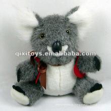 adorável macio mini koala urso brinquedos de pelúcia com arco
