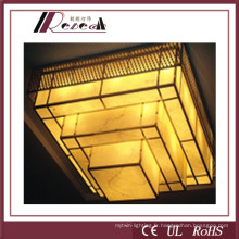 Résine Matériaux Hôtel Lobby Pendant Lamp for Hotel Project