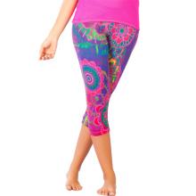 Pantalones de deporte de fitness, pantalones Capris