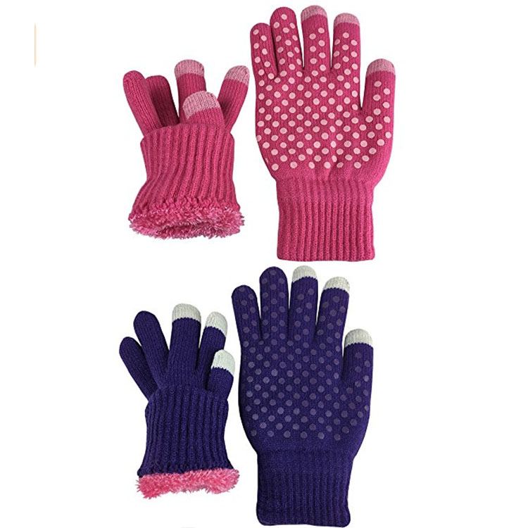 Custom Winter Knitted Gloves