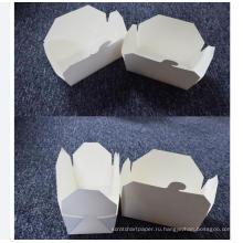 коробка быстро-приготовленного питания упаковывая для хранения складной