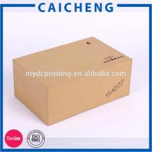 Boîte de cadeau haut de gamme fait main de rectangle fait main de vente chaude pour l'électronique