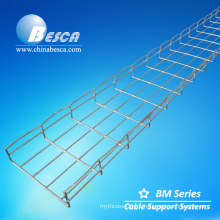 SS316L Wire Mesh Cable Tray Specification 200x50x3000 mm