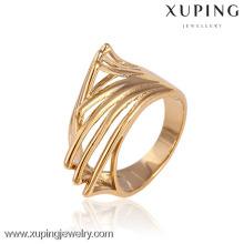 11584-China Moda Xuping Elegante Para Mulher Com Anéis De Casamento Banhado A Ouro 18k
