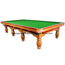 Mesa de snooker clássica, mesa de bilhar
