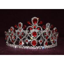Tiaras de diamantes de imitación princesa a granel