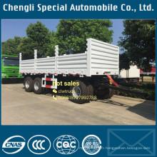 Meilleures 15cbm 3 essieux remorque Cargo