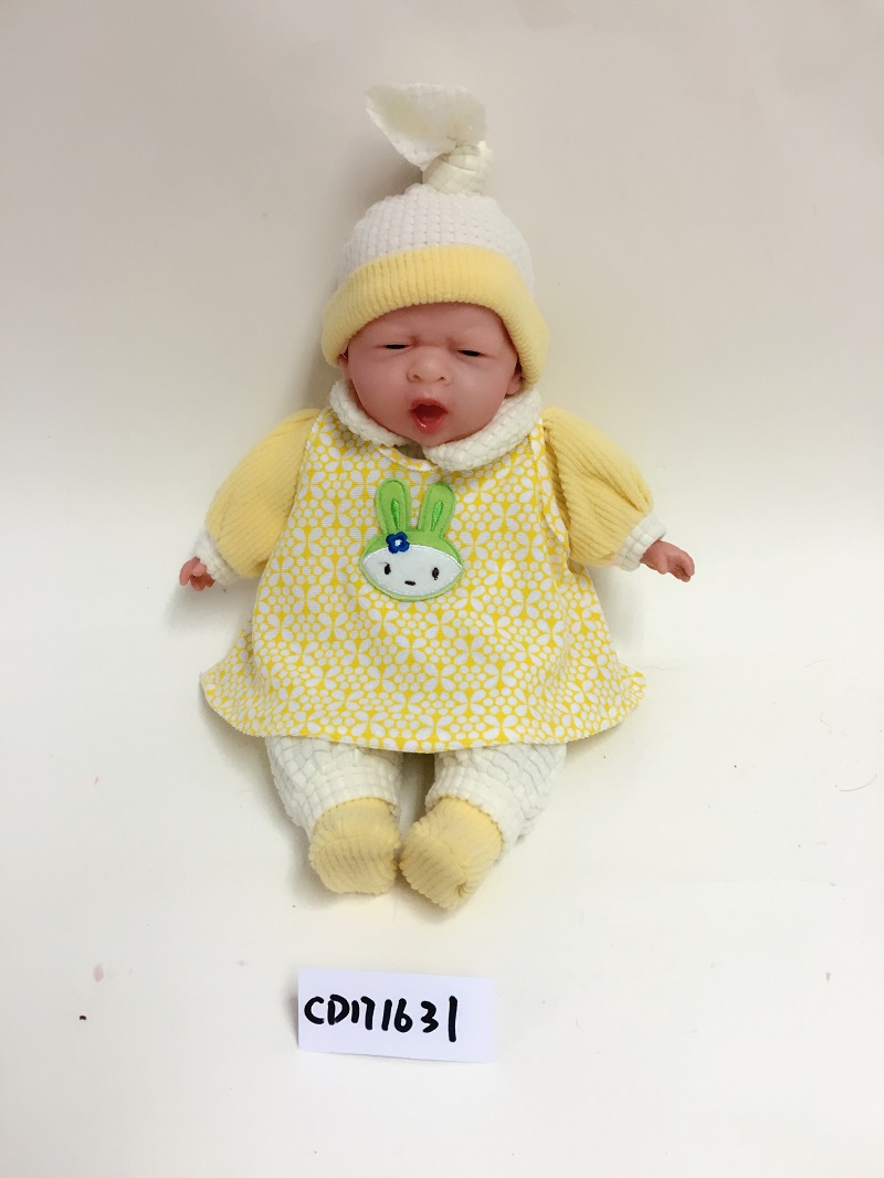 Yellow baby doll