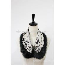 2015 Nueva bufanda / mantón baratos de la piel de la falsificación de las mujeres de la manera del diseño