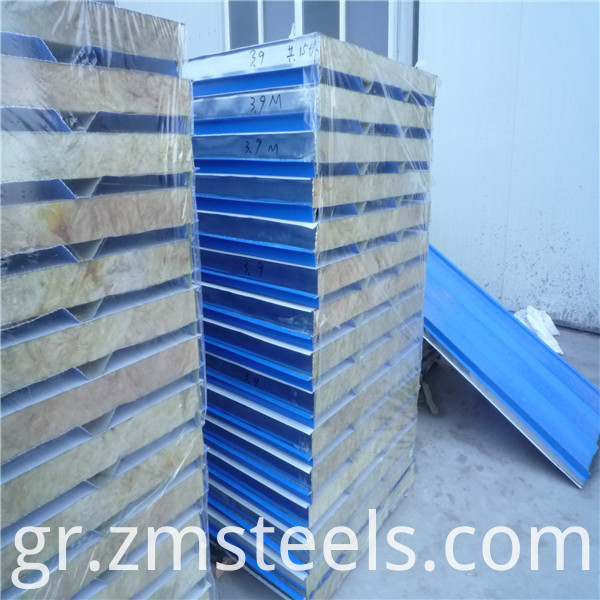 Core Material Glass Wool Sandwich Panel