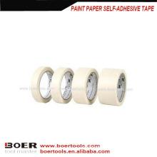 Paint self-adhesive paper masking tape/Self Adhesive OPP Masking Crepe Tape