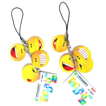 pvc mobile pendant for promotion,gift,bags,mobile phone and mass selling