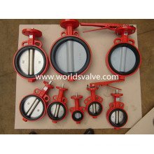 Wafer Type Butterfly Valve con CE Aprobado