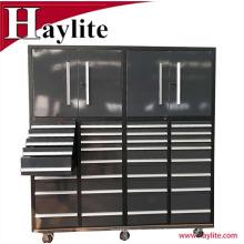 Gabinete de herramienta de caja de herramientas de acero móvil de 32 cajones uso de garaje OEM Qingdao proveedor