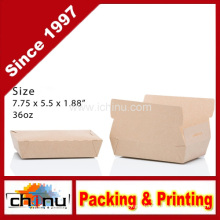 Twin Lock Take out Kraft Paper Box (130113)