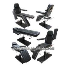 Muchas funciones de color negro silla tatuaje