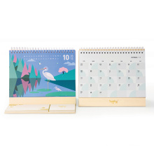 Offset Printing Full Color Custom Desk Calendar