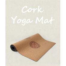 Tapis de yoga en liège non toxique écologique de luxe Melors