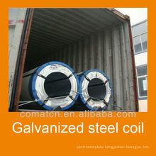 Hot Dipped Zinc Coated Steel Strips, DX51D Z275