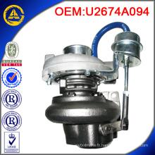 Vente chaude GT2052 U2674A094 turbo