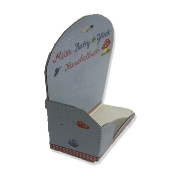 Paper product display box for toys