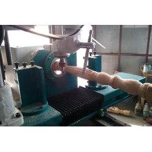Distância móvel máxima do eixo Z: Torno CNC para carpintaria de 1520 mm