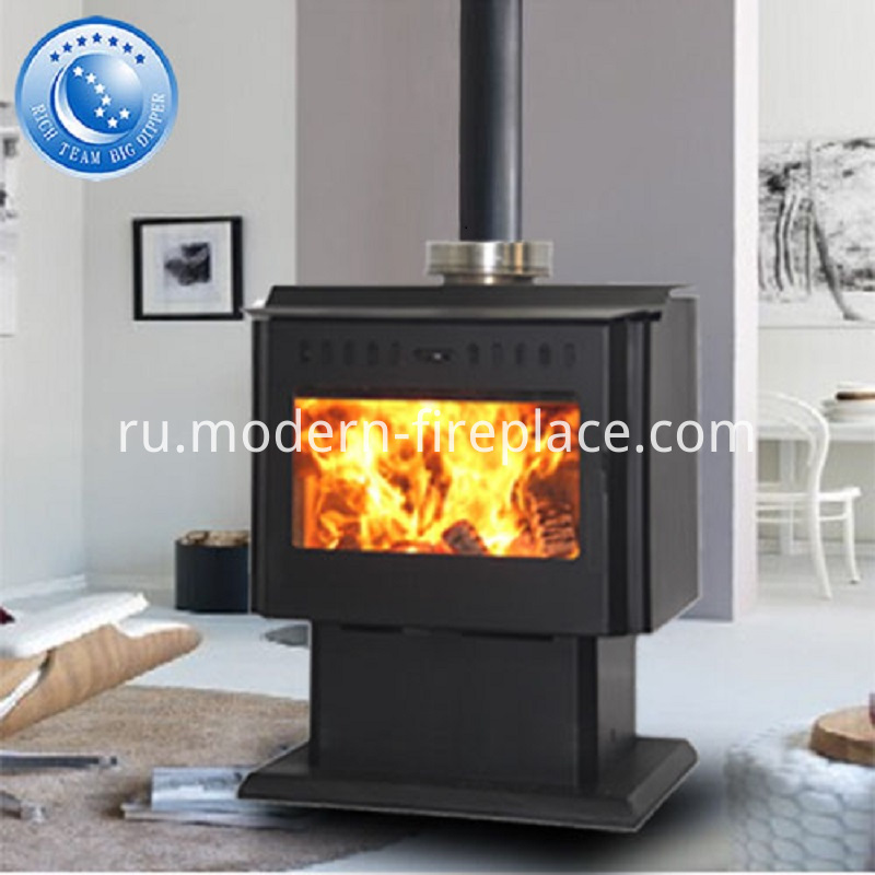 Steel Plate Wood Burning Stoves Contemporary
