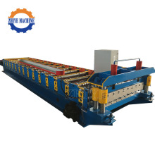 Panel bumbung Galvanized Cold Rolling Forming Machine